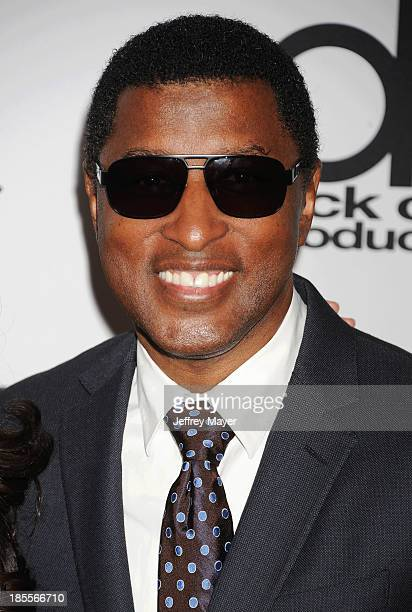 Recording artist/producer Kenneth 'Babyface' Edmonds arrives at the 17th Annual Hollywood Film Awards at The Beverly Hilton Hotel on October 21 2013...