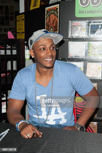 Recording Artist/Rapper Mystikal attends Mark Ronson InStore Appearance At Amoeba To Promote His New CD Uptown Special at Amoeba Music on April 8...