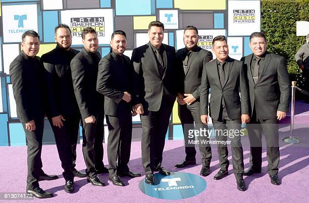 Recording artists Alan Ramirez Sergio Lizarraga and members of Banda MS attend the 2016 Latin American Music Awards at Dolby Theatre on October 6...