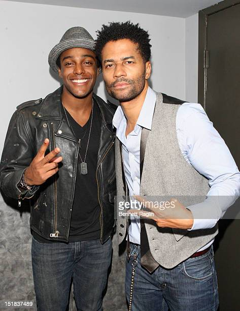 Recording artists Austin Brown and Eric Benet attend An Evening of Diversity In Style at Highline Ballroom on September 11 2012 in New York City