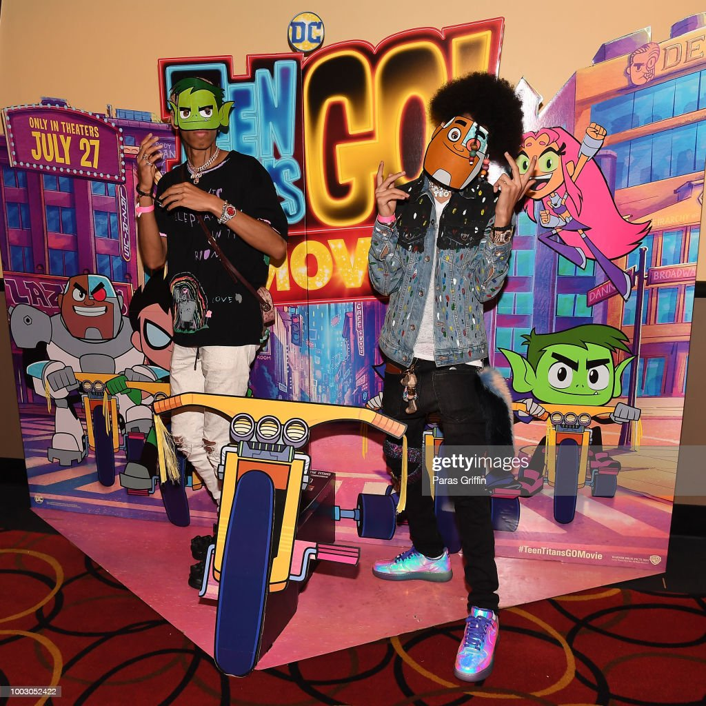 "Ayo & Teo Host Special Atlanta Screening Of ""Teen Titans Go! To The Movies"""