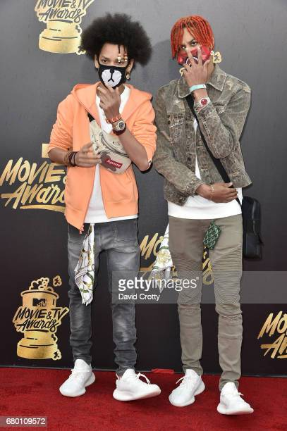 Recording artists Ayo Teo attend the 2017 MTV Movie And TV Awards at The Shrine Auditorium on May 7 2017 in Los Angeles California