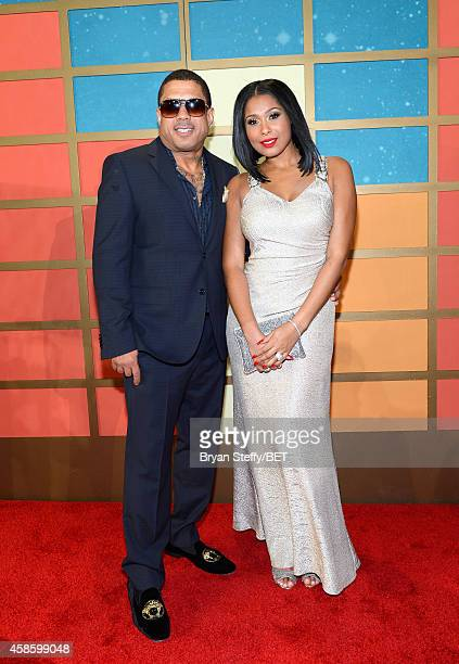 Recording artists Benzino and Althea Heart attend the 2014 Soul Train Music Awards at the Orleans Arena on November 7 2014 in Las Vegas Nevada