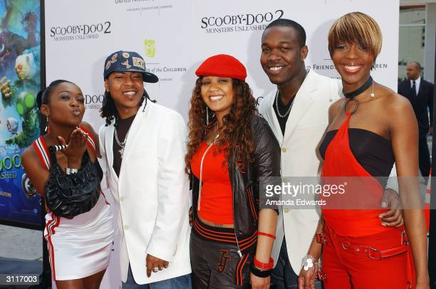 Recording artists Big Brovaz arrive at the World Premiere of Scooby Doo 2 Monsters Unleashed on March 20 2004 at Grauman's Chinese Theatre in...