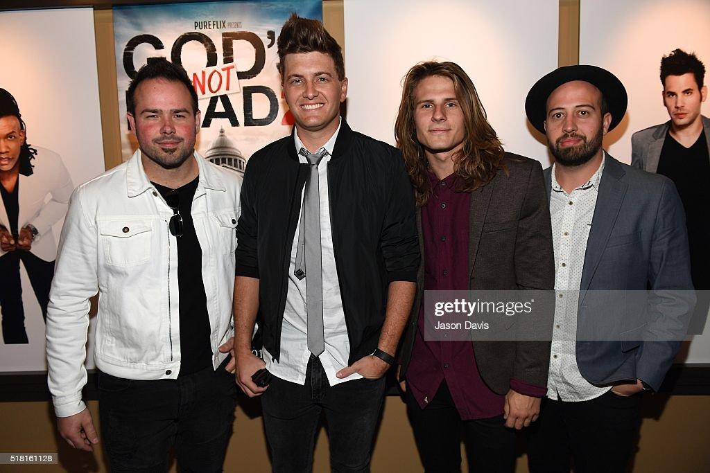 "Newsboys/Pure Flix Nashville Red Carpet Premiere of ""God's Not Dead 2"" : News Photo"