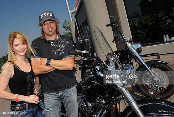 Recording Artists Brother and Sister Elaine Roy and Lee Roy are The Roys at the TJ Martel Little Big Town Ride for A Cure Being held during the 2008...