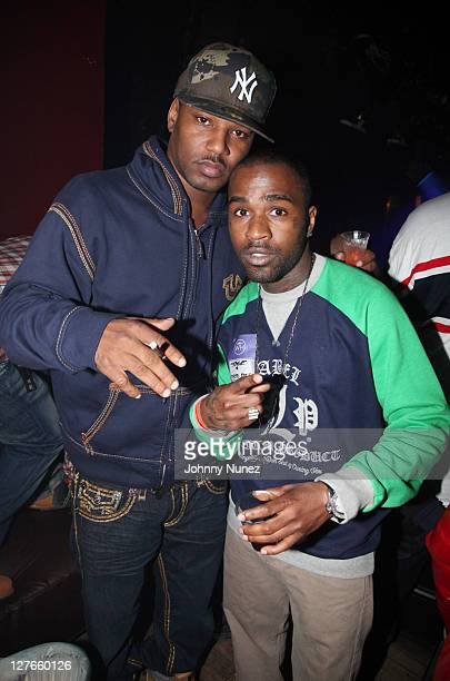 Recording artists Cam'ron and Tarz Youngblood attend Girls Night Out at Webster Hall on March 31 2011 in New York City