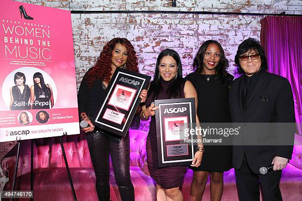 Recording artists Cheryl 'Salt' James and Sandra 'Pepa' Denton of SaltNPepa Nicole GeorgeMiddleton ASCAP VP Rhythm and Soul and John Titta ASCAP EVP...