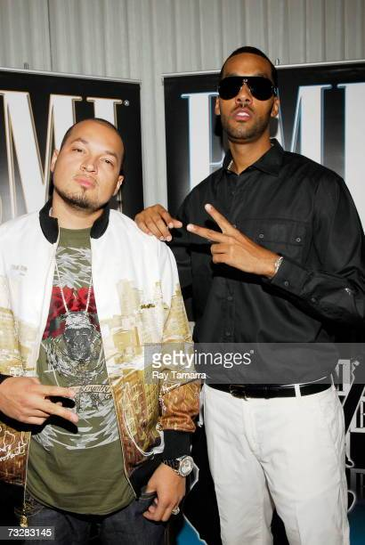 Recording artists Cool and Dre attend BMI's PreGrammy Party at the Mondrian Hotel February 09 2007 in Los Angeles California