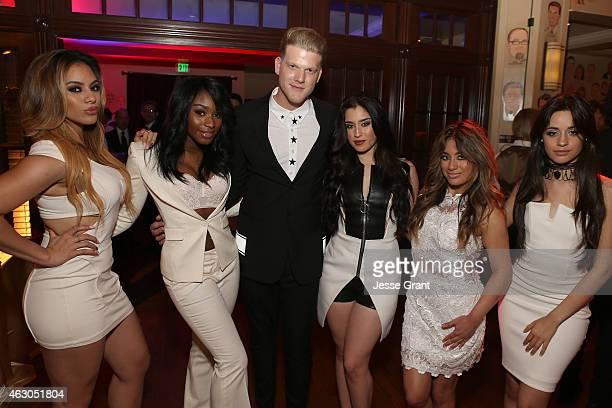 Recording artists Dinah Jane Hansen Normani Hamilton of Fifth Harmony Scott Hoying of Pentatonix and Camila Cabello Ally Brooke and Lauren Jauregui...