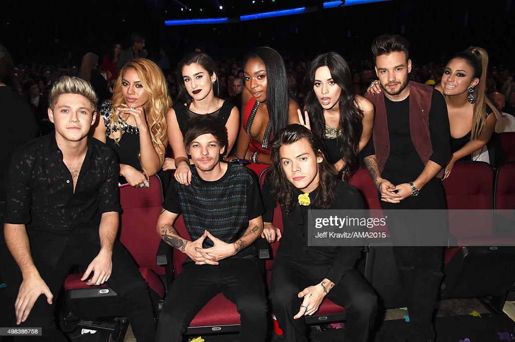 2015 American Music Awards - Backstage And Audience : News Photo