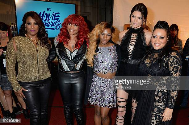 Recording artists DJ Spinderella and Sandra 'Pepa' Denton TV personality Egypt Criss model Kendall Jenner and recording artist Cheryl 'Salt' James...