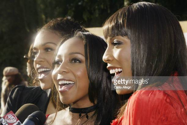 Recording artists En Vogue attend The 18th Annual Soul Train Music Awards held at the International Cultural Center on March 20 2004 in Los Angeles...