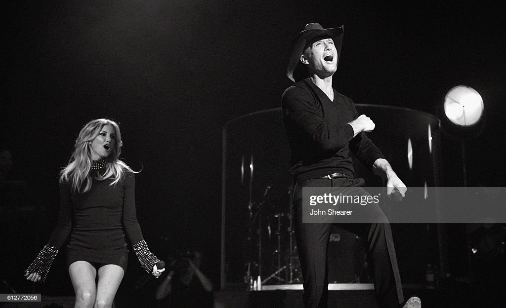 Tim McGraw and Faith Hill Soul2Soul World Tour Announcement and Performance at the Ryman : News Photo