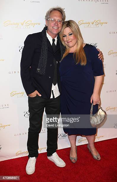 Recording artists Gerry Beckley and Carnie Wilson attend the 21st Annual ELLA Awards at The Beverly Hilton Hotel on February 20 2014 in Beverly Hills...