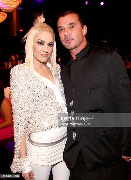 Recording artists Gwen Stefani and Gavin Rossdale attend the PEOPLE Magazine Awards at The Beverly Hilton Hotel on December 18 2014 in Beverly Hills...