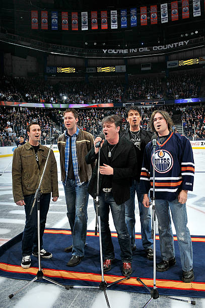 Columbus Blue Jackets v Edmonton Oilers