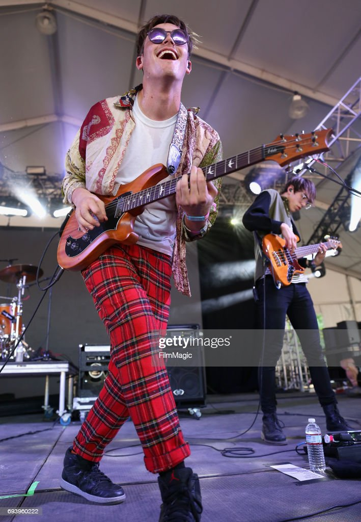 Recording artists Jake Luppen (L) and Nathan Stocker of Hippo C&us perform onstage at & 2017 Bonnaroo Arts And Music Festival - This Tent - Day 1 Photos ...