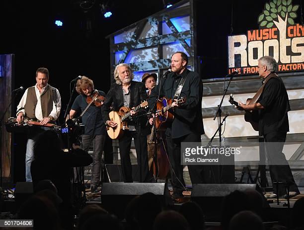 Recording Artists Jerry Douglas Sam Bush Les Thompson John Carter Cash and Matt Cartsonis join John McEuen and perform at his 70th Birthday Christmas...