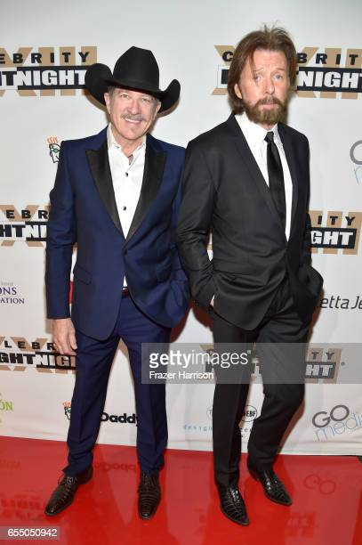 Recording artists Kix Brooks and Ronnie Dunn of Brooks Dunn attend Muhammad Ali's Celebrity Fight Night XXIII at the JW Marriott Desert Ridge Resort...