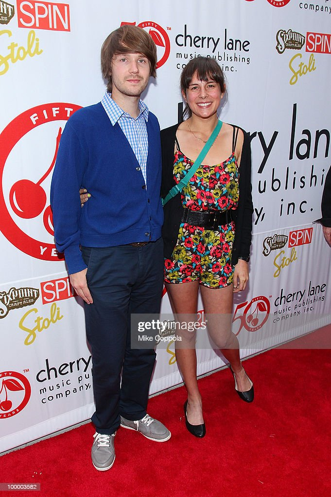 Recording artists Kyle Ryan (L) and Madi Diaz attend Cherry Lane Music Publishing's 50th Anniversary celebration at Brooklyn Bowl on May 19, 2010 in the Brooklyn borough of New York City.