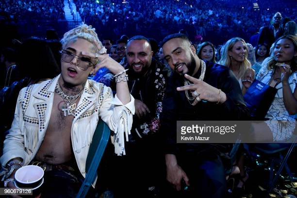 Recording artists Lil Pump and French Montana attend the 2018 Billboard Music Awards at MGM Grand Garden Arena on May 20 2018 in Las Vegas Nevada