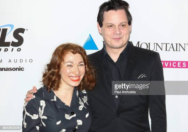 Recording Artists Regina Spektor and Jack White attend the Recording Academy producers and engineers wing presents 10th Annual Grammy week event at...