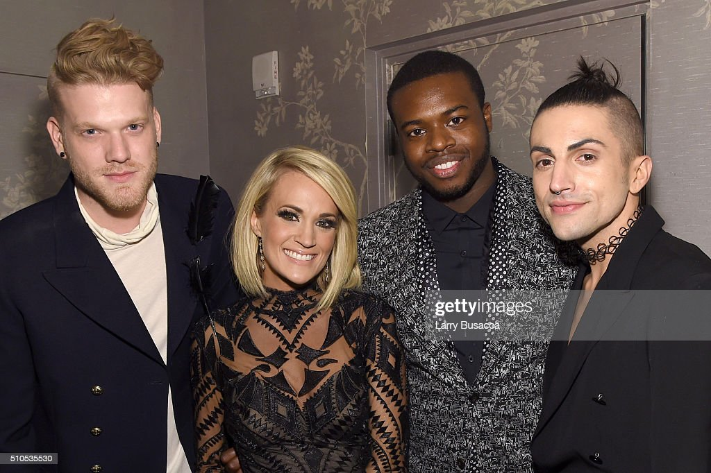 Sony Music Entertainment 2016 Post-Grammy Reception : News Photo