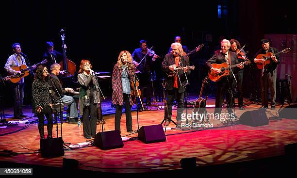 Recording Artists Sharon White of The Whites Bruce Horsby Cheryl White of The Whites Alison Krauss Ricky Skaggs Del McCoury Martin Hayes and Dennis...