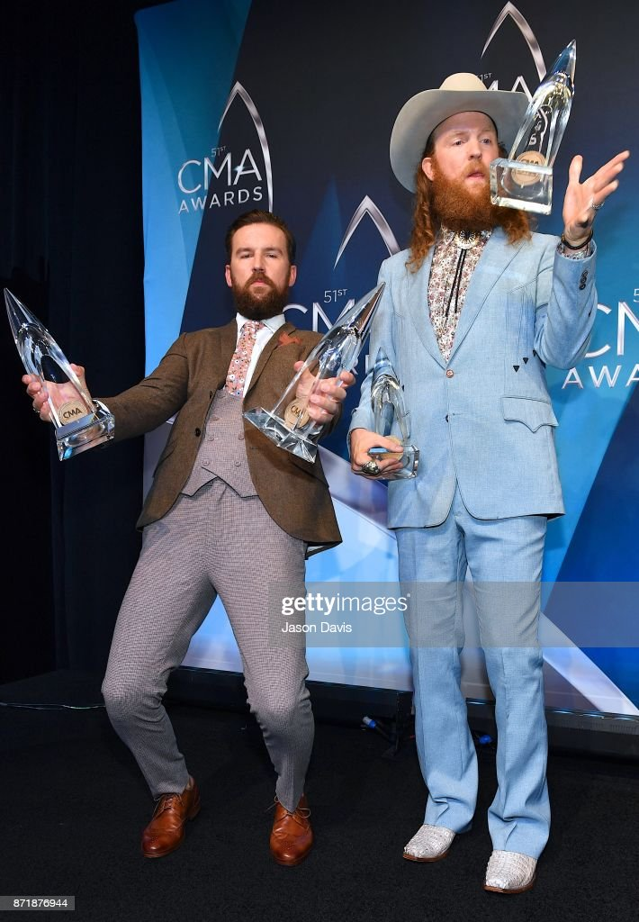 The 51st Annual CMA Awards - Press Room