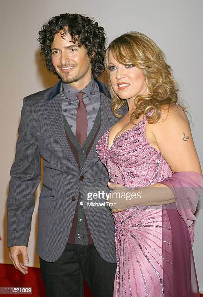 Recording artists Tommy Torres and Ednita Nazario arrive at the 2008 Latin Recording Academy Person of the Year awards tribute to Gloria Estefan held...