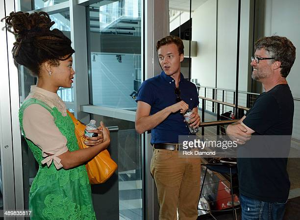 Recording Artists Valerie June and Parker Millsap chat with Executive Director Americana Musis Association Jed Hilly during the Americana Music...