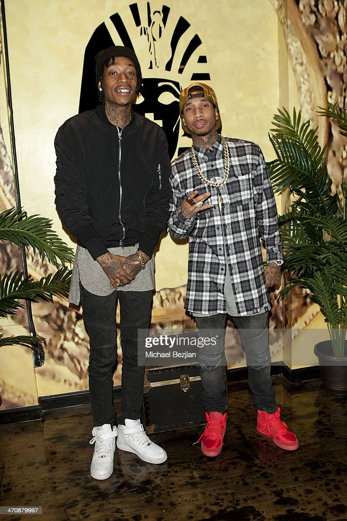 Exclusive Press Preview Of Tyga's Last Kings Flagship Store On Melrose Ave. : News Photo