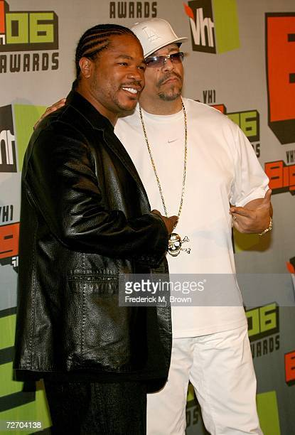 Recording artists Xzibit and IceT arrive to the VH1 Big in '06 Awards held at Sony Studios on December 2 2006 in Culver City California