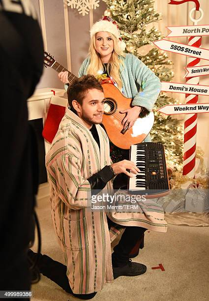 Recording artists Zedd and Meghan Trainor attend 1027 KIIS FM's Jingle Ball 2015 Presented by Capital One at STAPLES CENTER on December 4 2015 in Los...