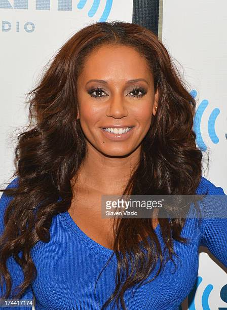 Recording artist/TV personality Mel B visits SiriusXM Studios on July 25 2013 in New York City