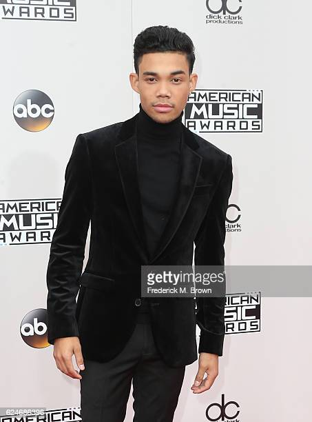 Recording artst Roshon Fegan attends the 2016 American Music Awards at Microsoft Theater on November 20 2016 in Los Angeles California