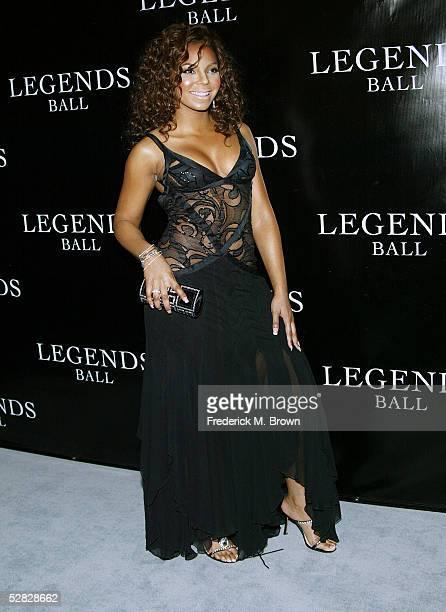 Recording Ashanti attends Oprah Winfrey's Legends Ball at the Bacara Resort and Spa on May 14 2005 in Santa Barbara California