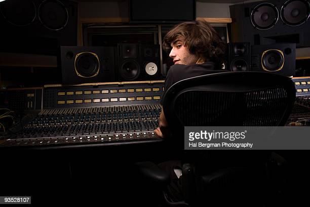 Recording Engineer at Work