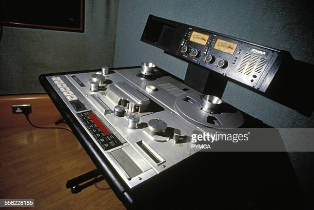 Recording Equipment & Reel to Reel Tape deck, UK, 1990s.