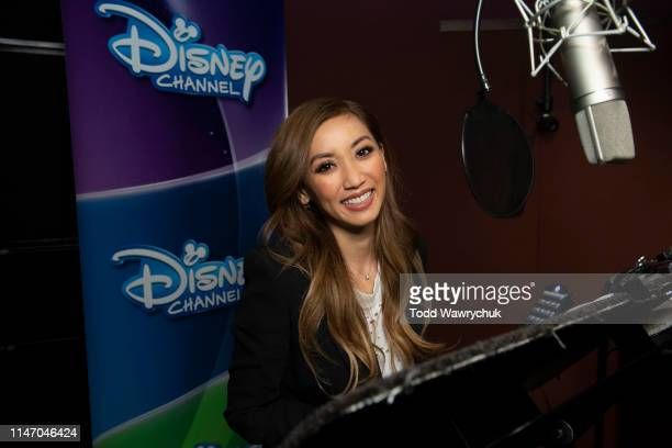 Recording Session. BRENDA SONG