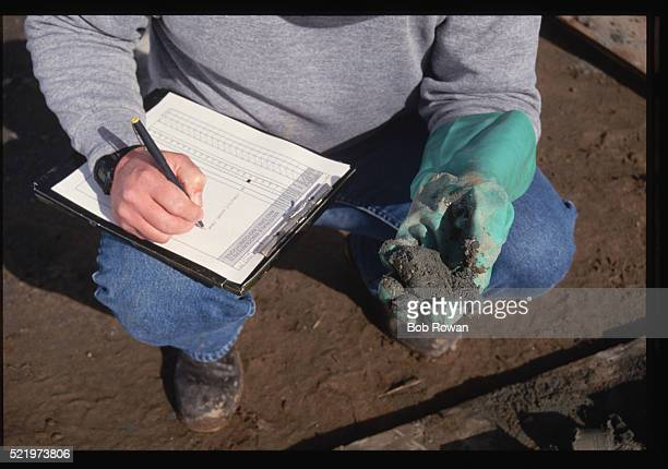 Recording Soil Sampling Information
