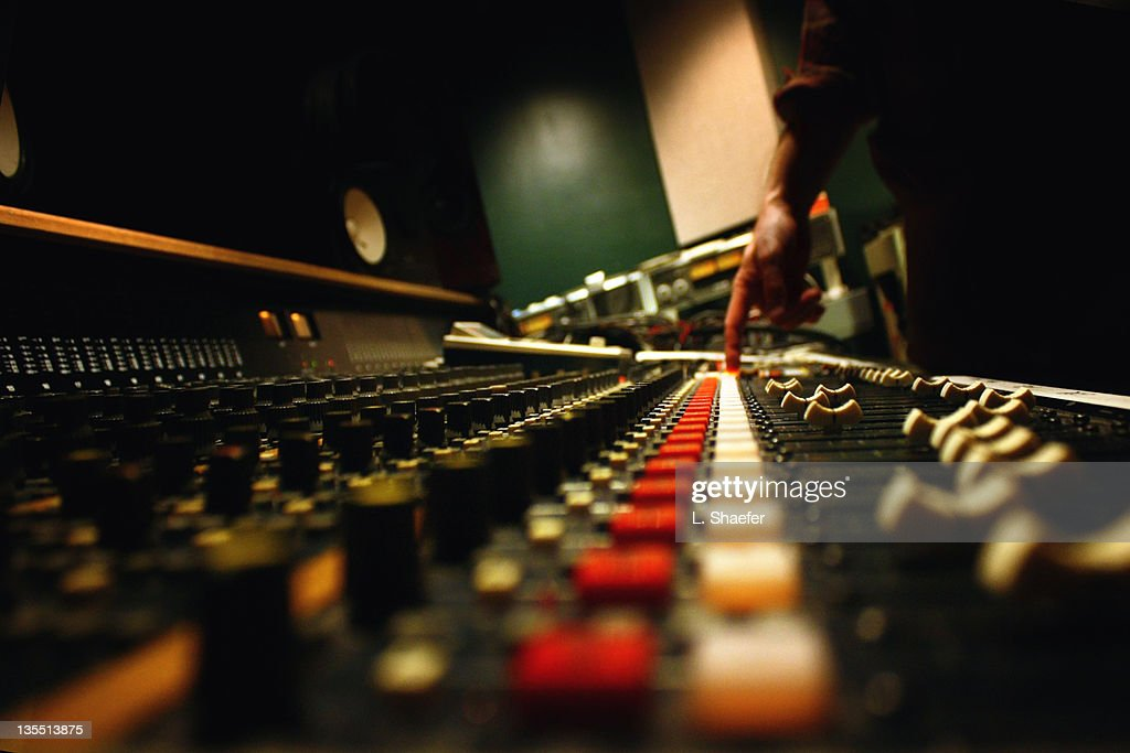 Recording studio : Stock Photo