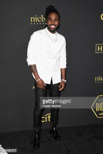 Recordingartist Jason Derulo attends Billboard Power 100 Red Carpet at Cecconi's on February 9 2017 in West Hollywood California