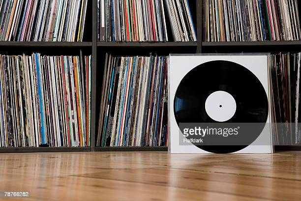 records leaning against shelves - covering stock pictures, royalty-free photos & images