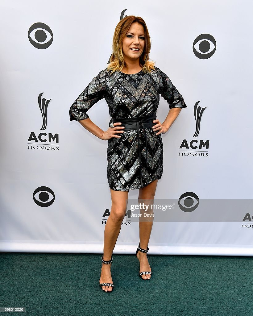 Recoring Artist Martina McBride arrives at 10th Annual ACM Honors at the Ryman Auditorium on August 30, 2016 in Nashville, Tennessee.