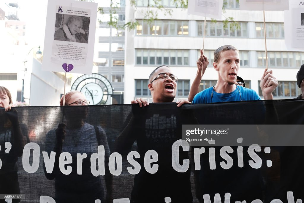Activists Call On Gov. Cuomo For Increased Response To Opioid Epidemic