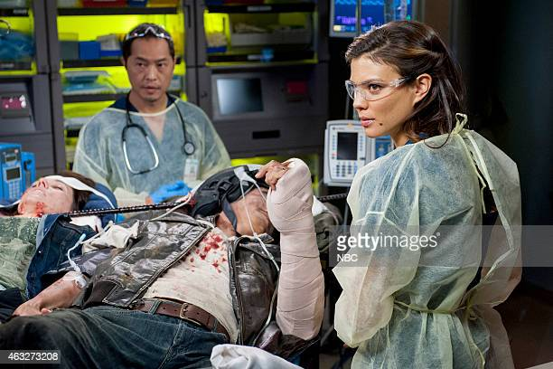 SHIFT Recovery Episode 201 Pictured Ken Leung as Topher Zia Jeananne Goossen as Krista BellHart