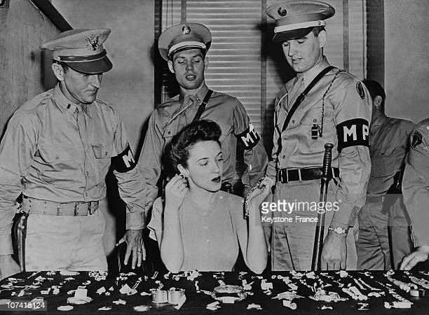 Recovery Of Jewels Stolen By Colonel Durant From Kronberg Castle Germany In Chicago Police On June 12Nd 1946