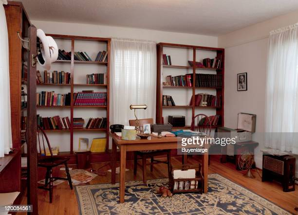 A recreation of Martin Luther King Jr's study at the Dexter Parsonage Museum Montgomery Alabama 2010